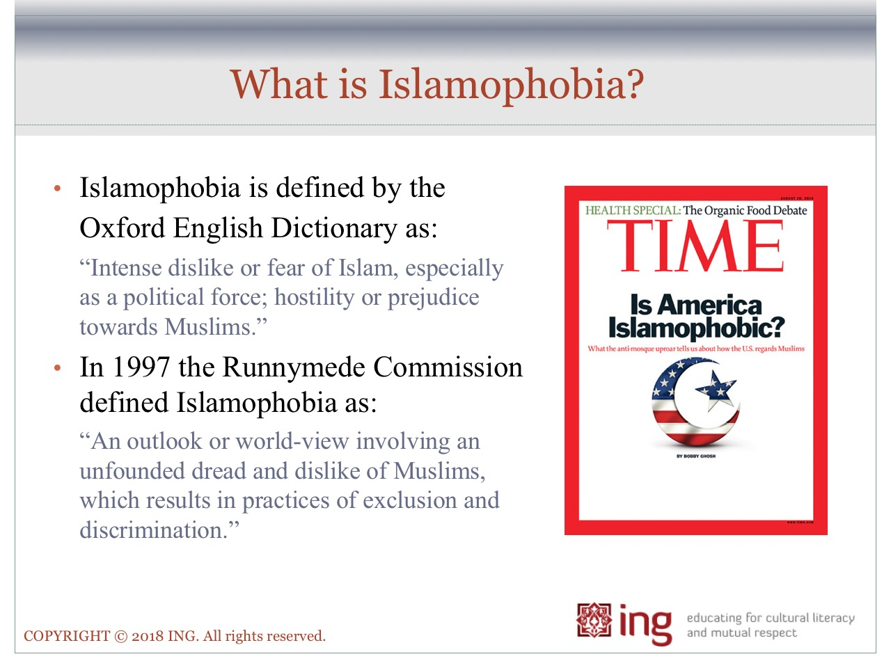 where does islamophobia come from how can we push back against it