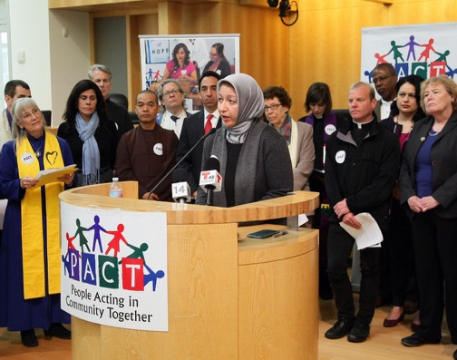 Blessing the Bread – Remarks at PACT Solidarity Network Press Conference